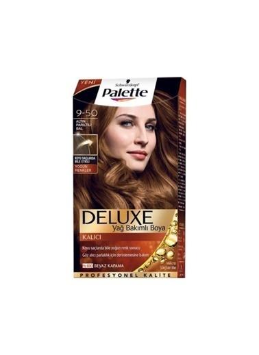 Palette Palette Deluxe Yoğun Renkler 9-50 Altın Parıltılı Bal Renksiz